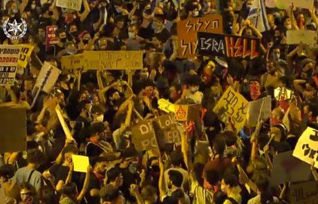 לילה סוער: המפגינים לא נרגעים 🎥