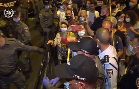 שלושה עצורים בהפגנות אמש 📸