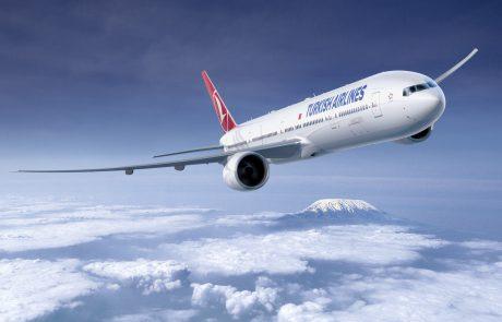טורקיש אירליינס מדווחת את תוצאות תנועת הנוסעים לאוקטובר 2019