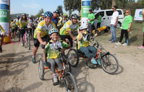 """בשבוע הבא: מסע האופניים השנתי למען ילדי אלי""""ן"""