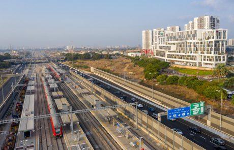 """55 דק' נסיעה בלבד! היסטוריה ברכבת- הושלמה תשתית החישמול לאורך כל """"מסילות דוד המלך"""" – הקו המהיר בין ירושלים להרצליה"""
