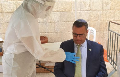 עיריית ירושלים משמשת דוגמא ובודקת את עובדי העירייה