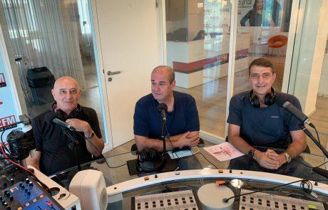 """זליג רבינוביץ הירושלמי מגיש תכנית המוסף בתוכנית ספיישל בשישי הקרוב ברדיו ת""""א הישר מנמל ת""""א"""