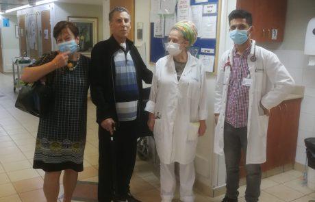הנס הרפואי של יוסף מנור בן ה-71, שחלה בקורונה ונגמל ממכונת ההנשמה