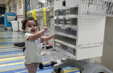 שוב נס בהדסה: ניצלו חייה של תינוקת בת 11 חודשים ממבשרת ציון I תראו מה היא בלעה