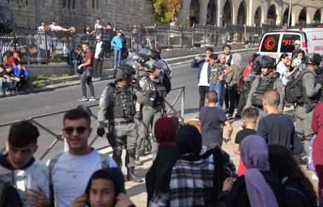 יום נוסף של התפרעויות בשער שכם – השוטרים פועלים בגבורה מול המחבלים