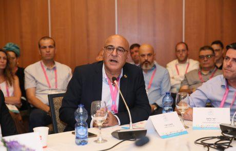 """מנכ""""ל עיריית ירושלים ב'ועידת ערים מתחדשות': """"ירושלים עוברת מהפכה בכל המישורים"""""""