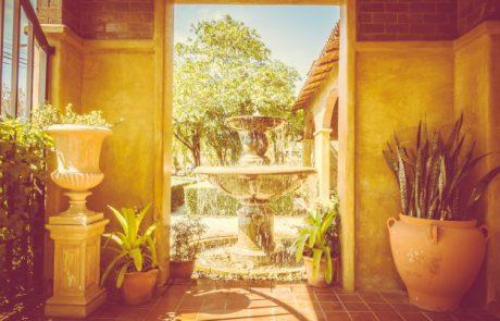 מפלים לגינה | מפלי מים לגינה | מזרקות לגינה