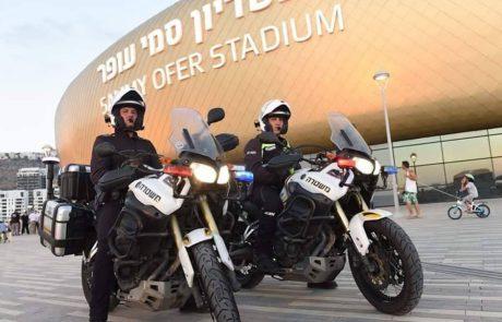 נוסעים ביום ראשון למשחק בחיפה? הושלמה היערכות המשטרה, כל מה שצריך לדעת: