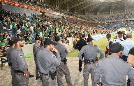 המשטרה עצרה את הנער שפרץ אמש למשחק הנבחרת בטדי
